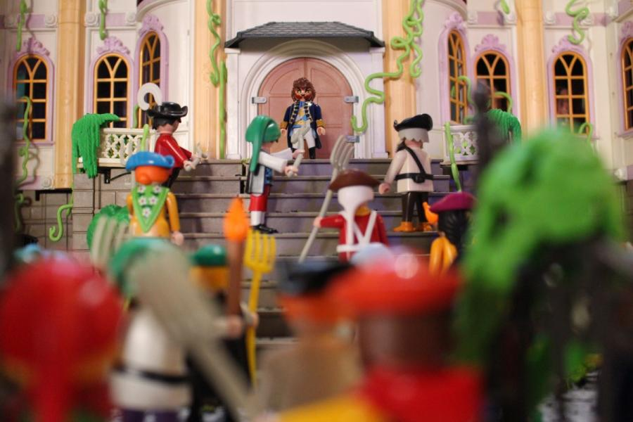 Exposition playmobil sedan 2019 dominique bethune la belle et la bete