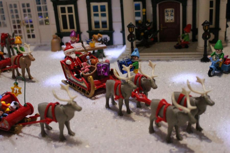 Exposition playmobil sedan 2019 dominique bethune la maison du pere noel