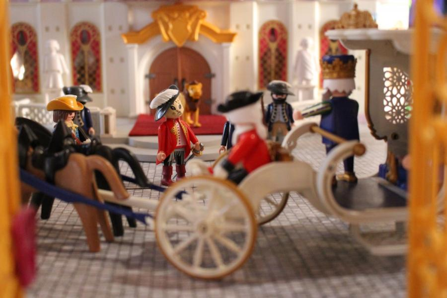 Exposition playmobil sedan 2019 dominique bethune le chat botte