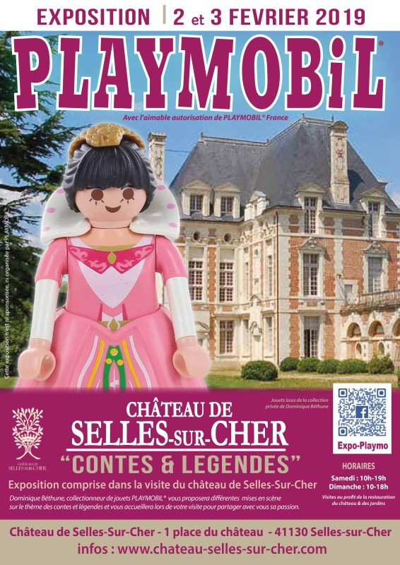 Exposition playmobil selles sur cher 41 bethune 1