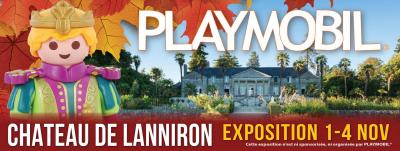 Exposition playmobil toussaint lanniron 2018