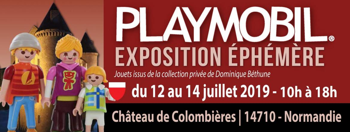Fb event exposition playmobil normandie 2019 chateau de colombieres
