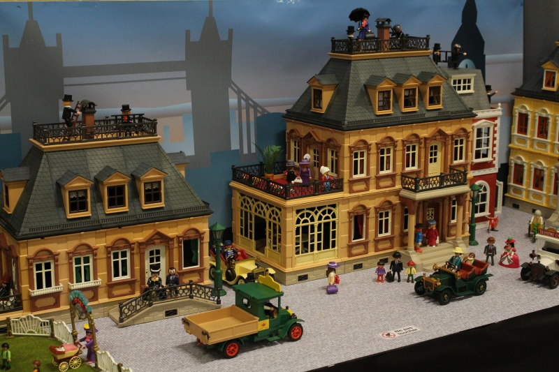 Fond diorama pour playmobil dominique bethune 1900 mary poppins