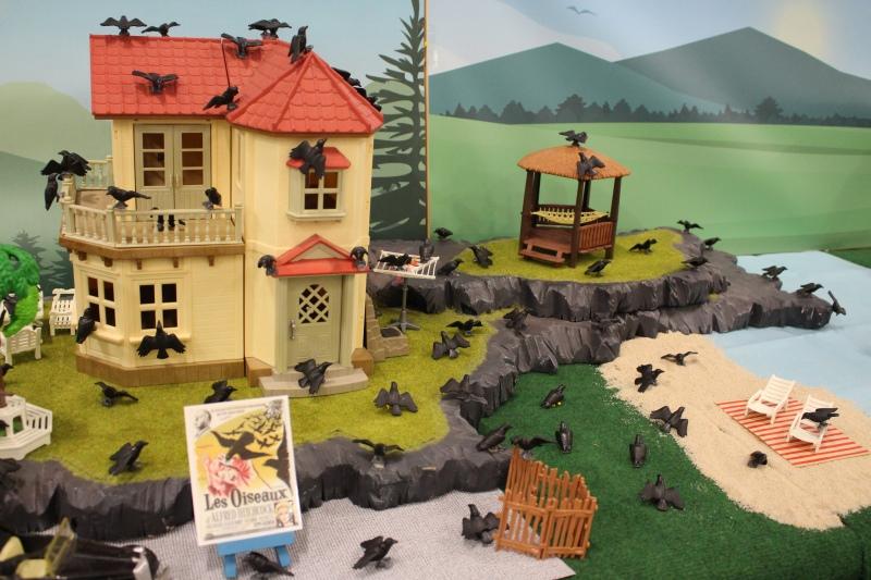 Fond diorama pour playmobil dominique bethune les oiseaux