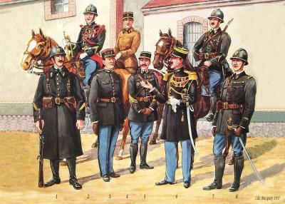 Gendarmerie 1936