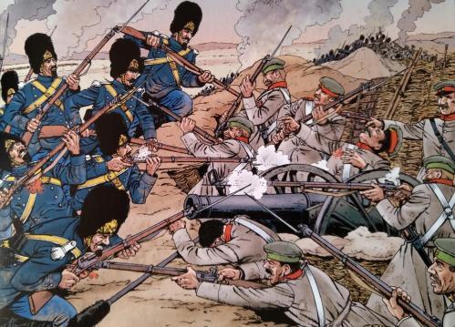 Gendarmerie geurre crimee 1855