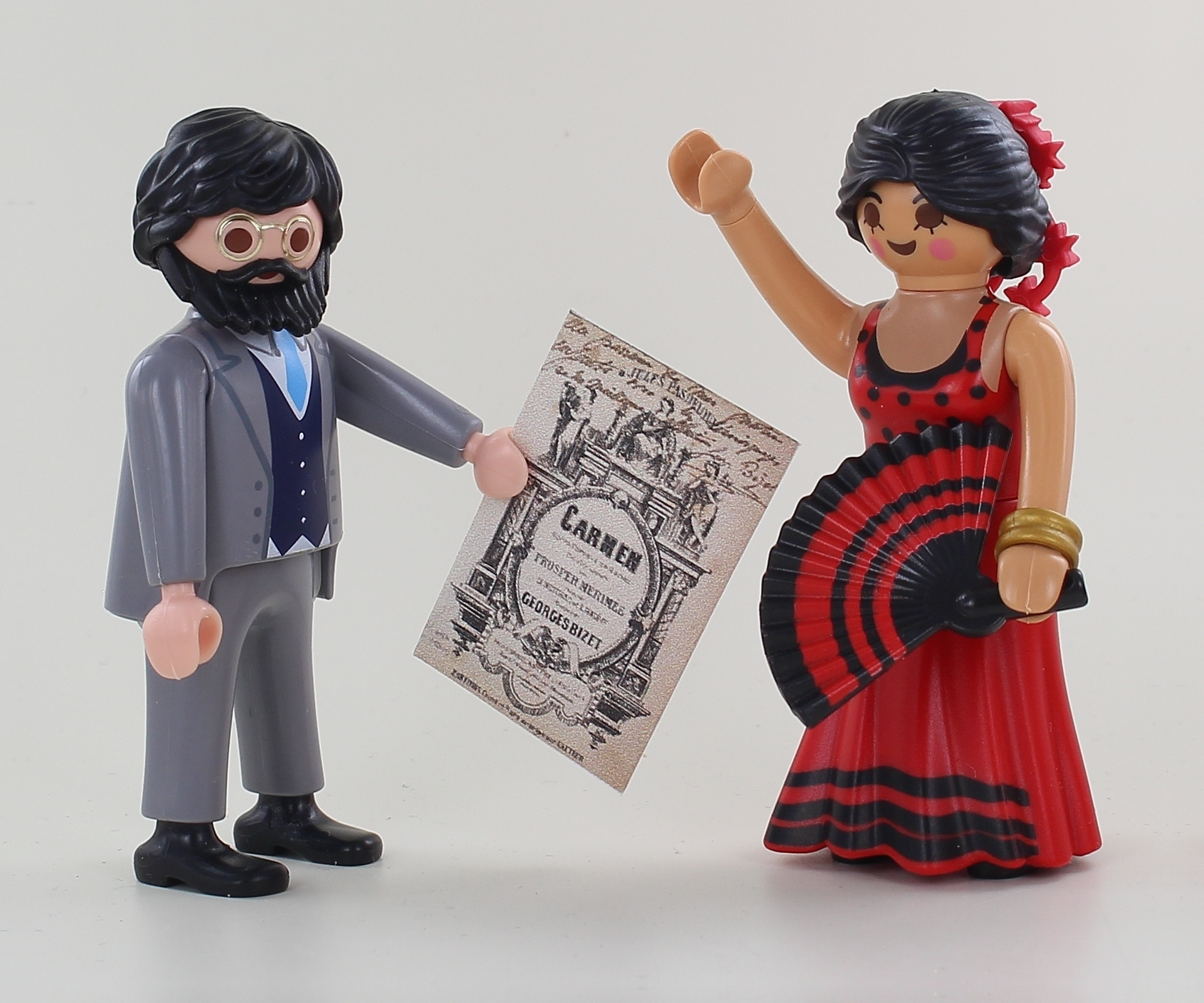 Georges bizet en playmobil dominique bethune carmen