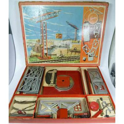 Grue geobra metal crane construction kit georg brandstadter