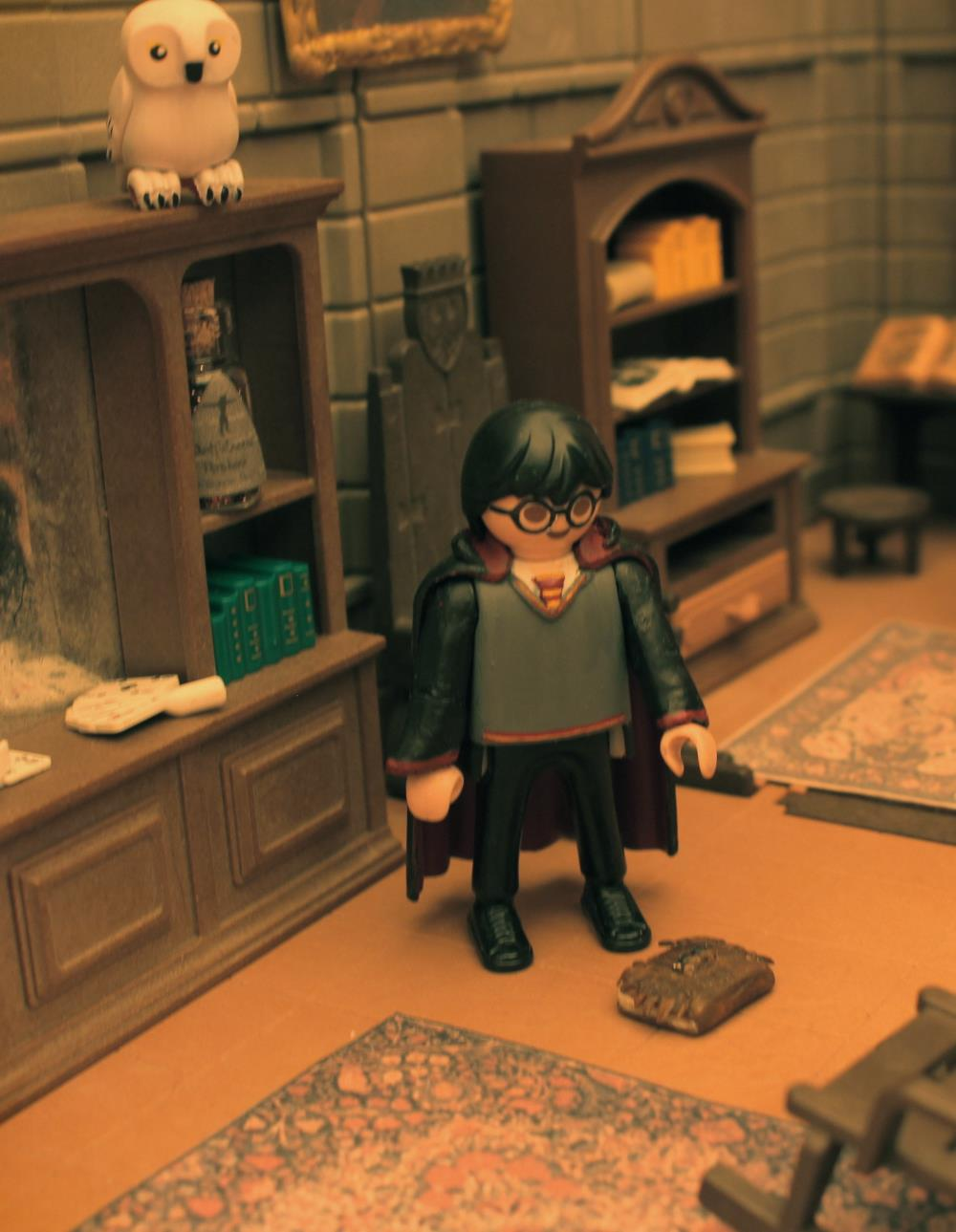 Harry potter playmobil par alizee expo playmo jallanges dominique bethune