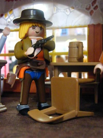 Lady ellen sharon stone playmobil custom western