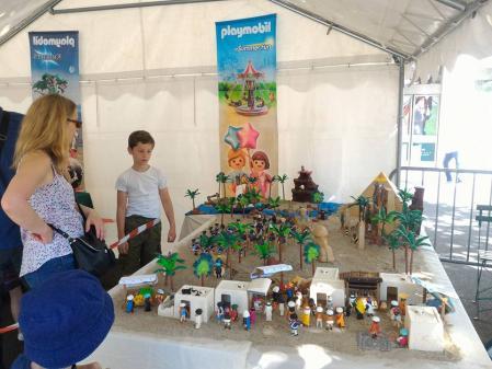 Maison laffitte exposition playmobil hippodrome dominique bethune plein air