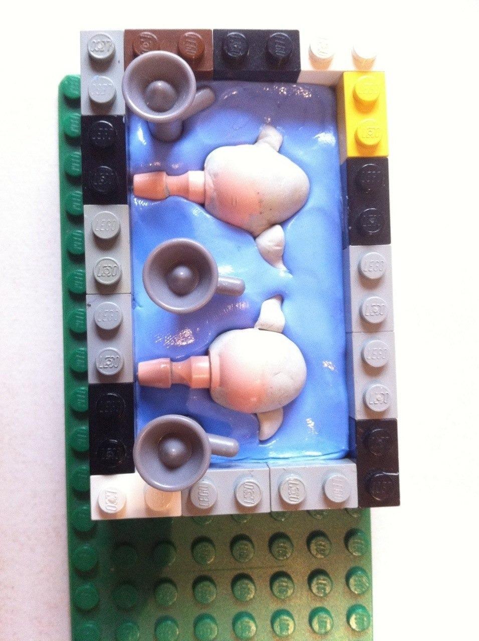 Moule en silicone pour tetes de gobelins en playmobil