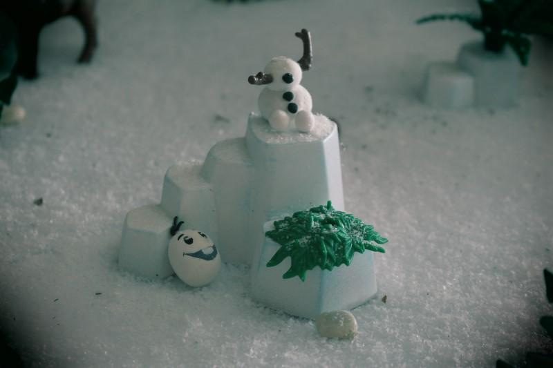 Olaf en playmobil reine des neiges alizee
