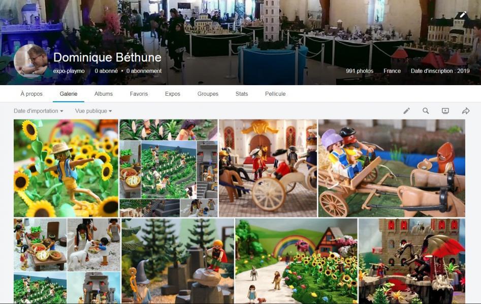 Oragniser une exposition playmobil les photos de dominique bethune