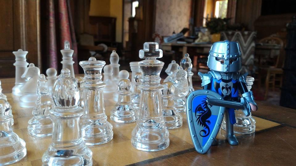 Organiser exposition playmobil dans un chateau dominique bethune