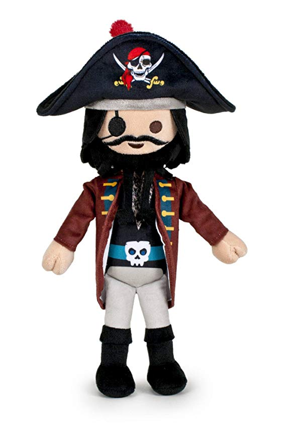 Peluche playmobil pirate 30cm famosa