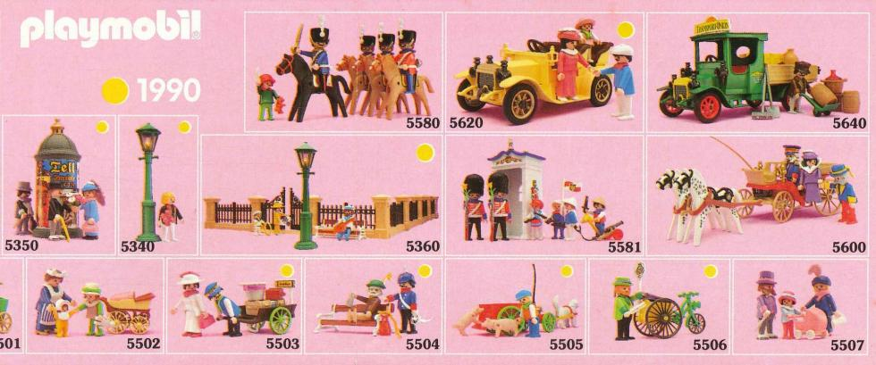 Playmobil 1900 collection serie rose 1