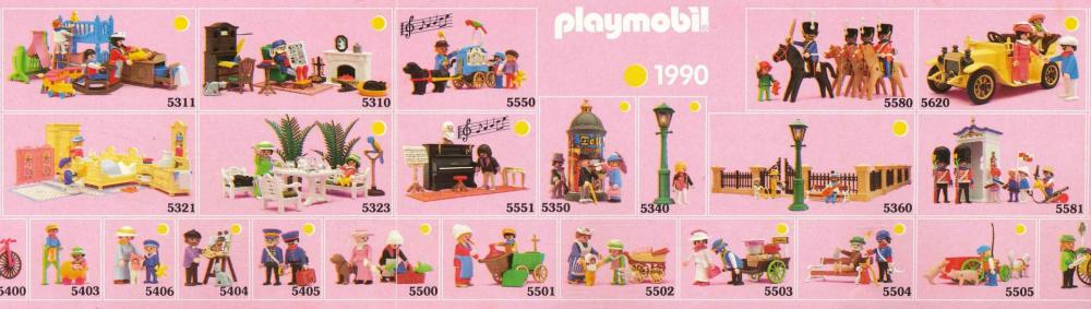 Playmobil 1900 collection serie rose 2