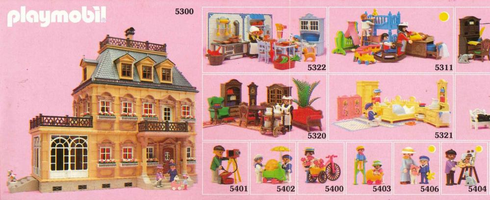 Playmobil 1900 collection serie rose 3