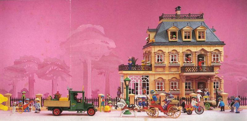 Playmobil 1900 mise en scene de la maison 5300