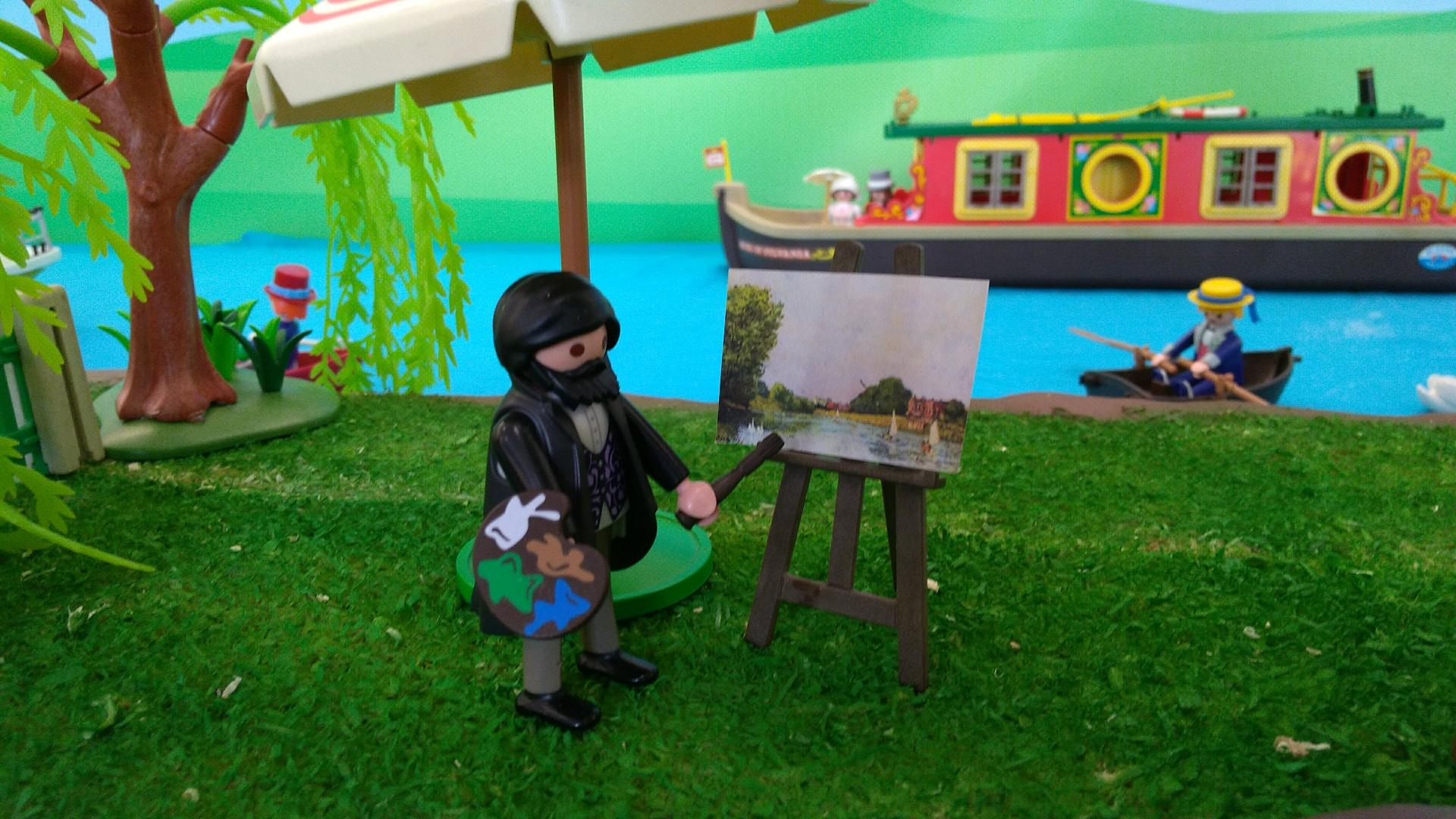 Playmobil alfred sisley dominique bethune exposition bougival