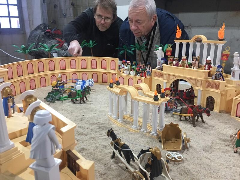 Playmobil arene benhur exposition playmobil chateau selles sur cher dominique bethune