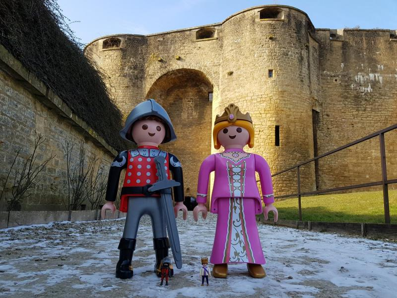Playmobil au chateau de sedan