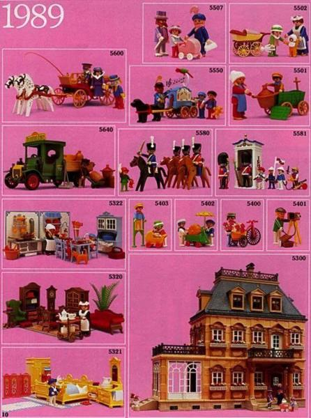 Playmobil catalogue 1989 belle epoque 1900