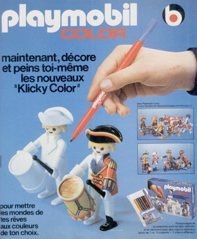 Playmobil color clicky color