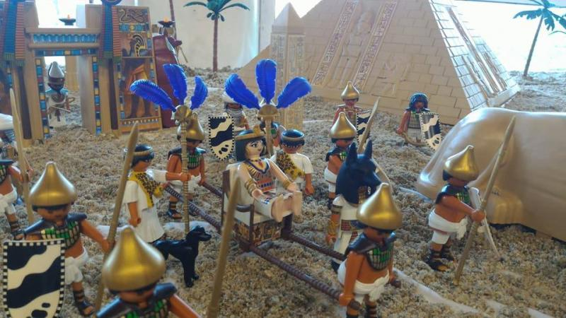 Playmobil egypte dominique bethune ludofolies 2017 bailly romainvilliers 10