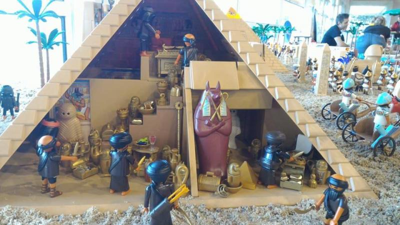 Playmobil egypte dominique bethune ludofolies 2017 bailly romainvilliers 11