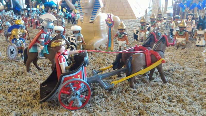 Playmobil egypte dominique bethune ludofolies 2017 bailly romainvilliers 12