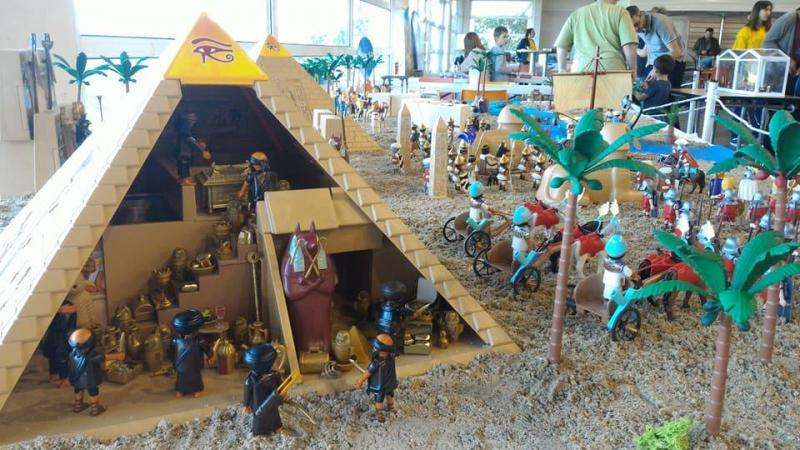Playmobil egypte dominique bethune ludofolies 2017 bailly romainvilliers 13