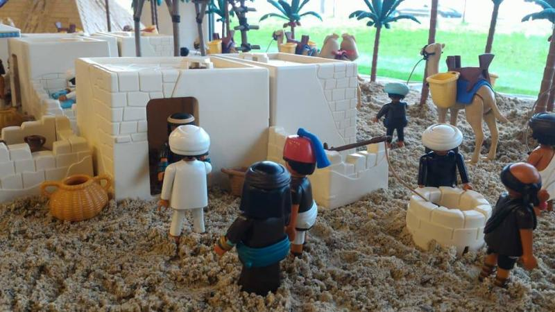 Playmobil egypte dominique bethune ludofolies 2017 bailly romainvilliers 3