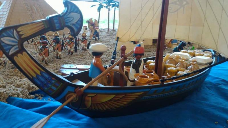 Playmobil egypte dominique bethune ludofolies 2017 bailly romainvilliers 4