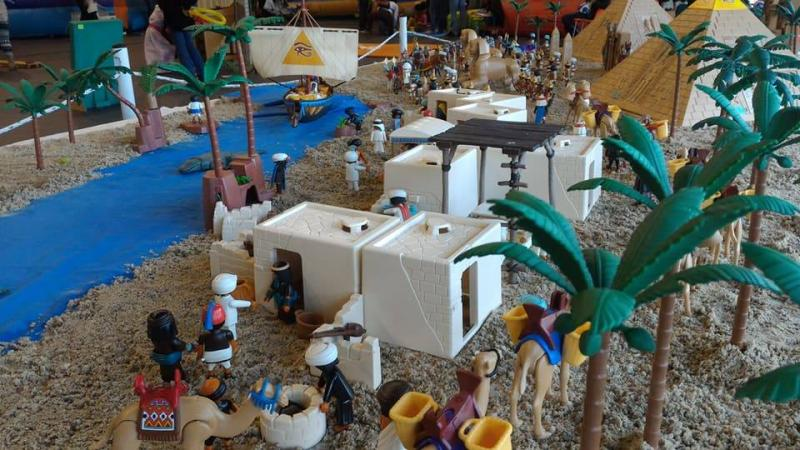 Playmobil egypte dominique bethune ludofolies 2017 bailly romainvilliers 8