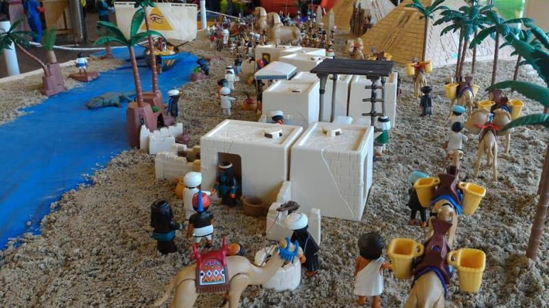 Playmobil egypte dominique bethune ludofolies 2017 bailly romainvilliers 9