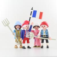 Playmobil foule revolution