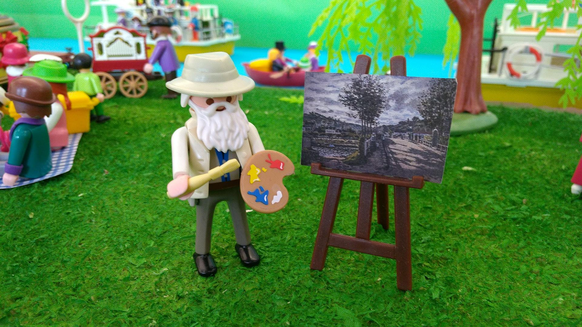 Playmobil jean monet dominique bethune exposition bougival