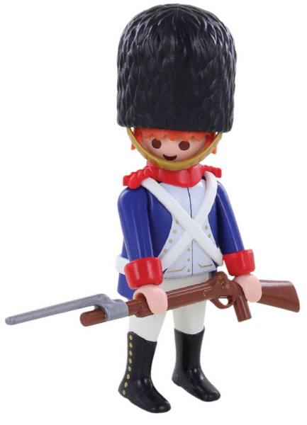 Playmobil napoleon grenadier collection dominique bethune