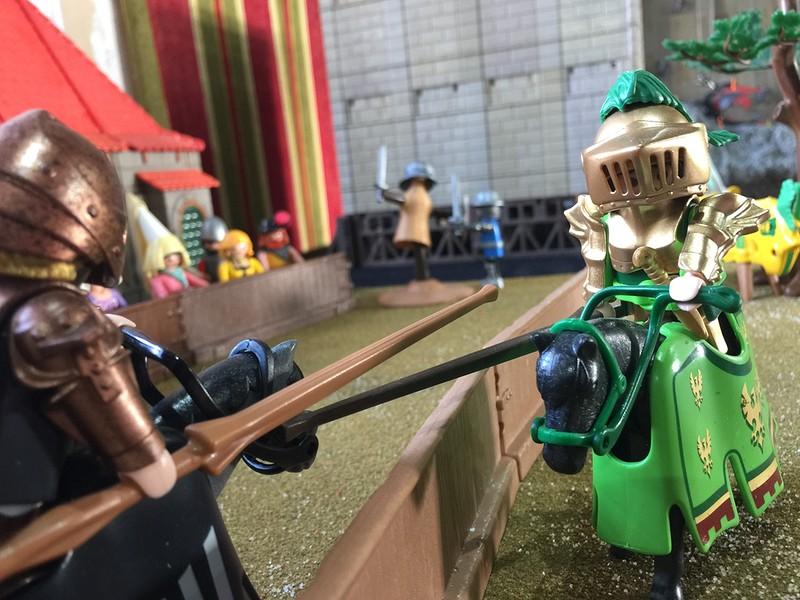 Playmobil tournois chevaliers exposition playmobil chateau selles sur cher dominique bethune