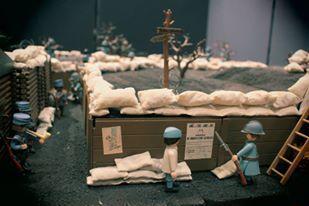 Playmobil verdun 14 18 1ere guerre mondiale custom pas vendu dans le commerce