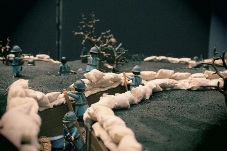 Playmobil verdun 14 18 1ere guerre mondiale custom pas vendu dans le commerce 2