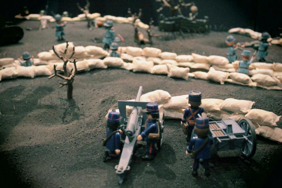 Playmobil verdun 14 18 1ere guerre mondiale custom pas vendu dans le commerce 3