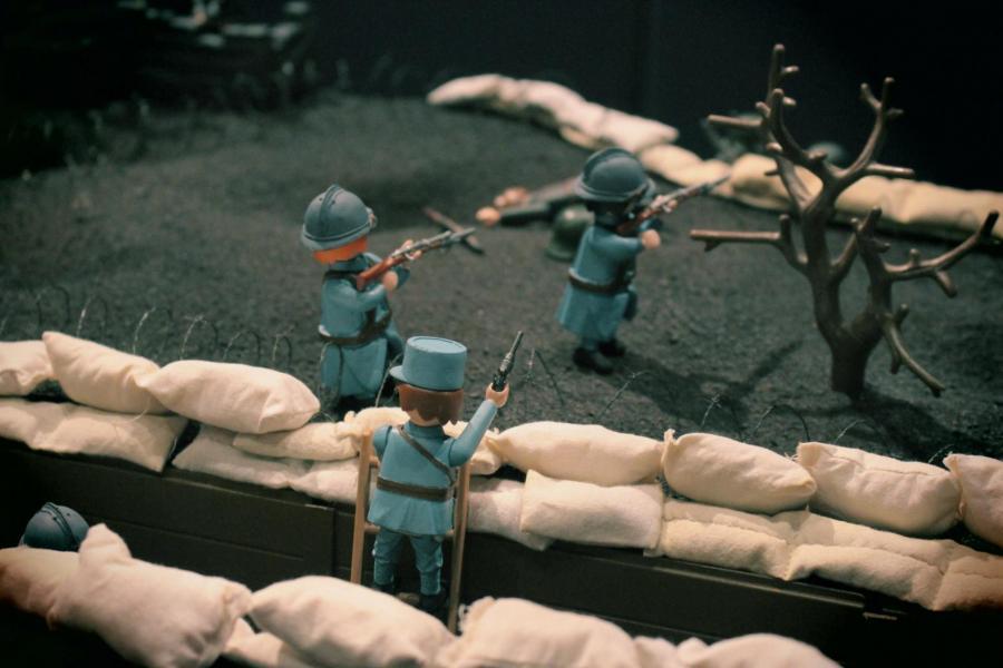 Playmobil verdun 14 18 1ere guerre mondiale custom pas vendu dans le commerce 4