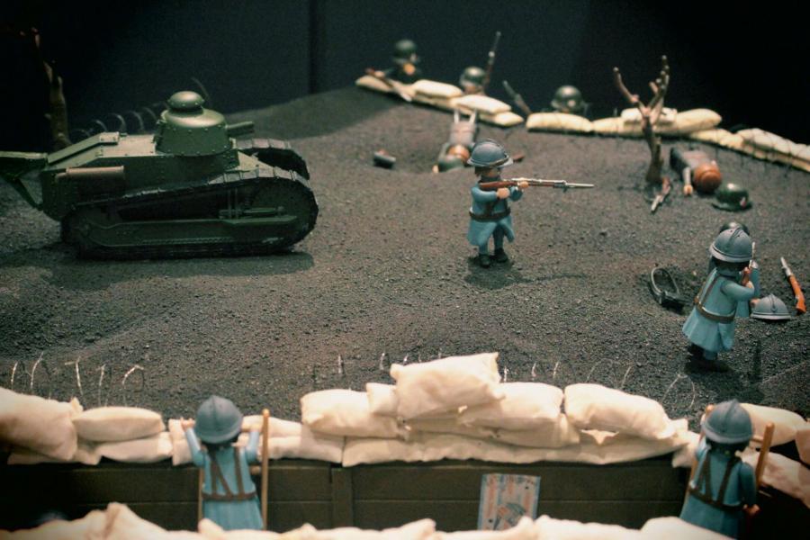 Playmobil verdun 14 18 1ere guerre mondiale custom pas vendu dans le commerce 5