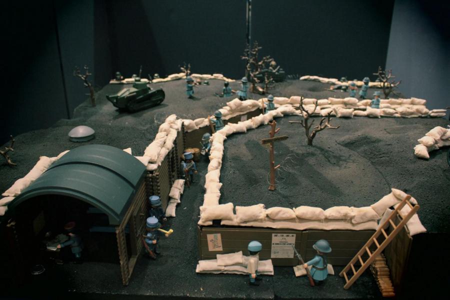 Playmobil verdun 14 18 1ere guerre mondiale custom pas vendu dans le commerce 6