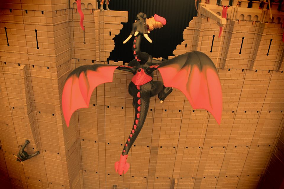 Proposer une exposition playmobil la grande muraille