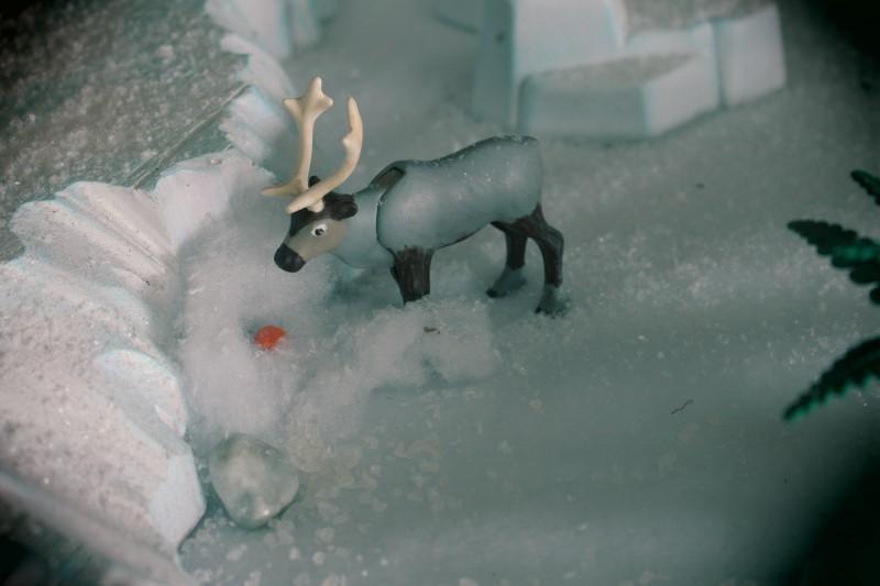 Sven en playmobil reine des neiges alizee