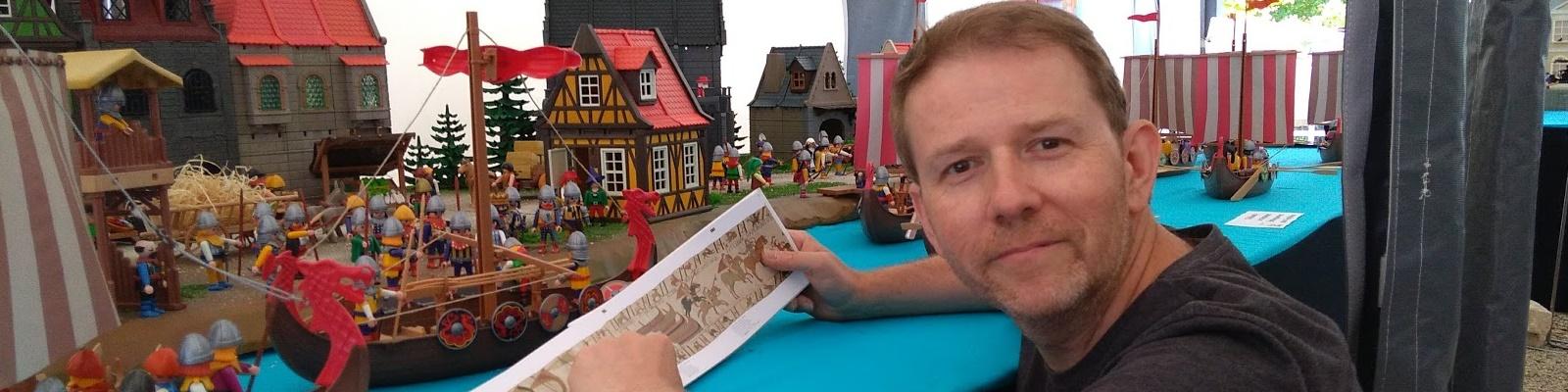 Reproduire une bataille historique en Playmobil